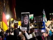 Demo der Anti-Islam-Bewegung Pegida in Dresden