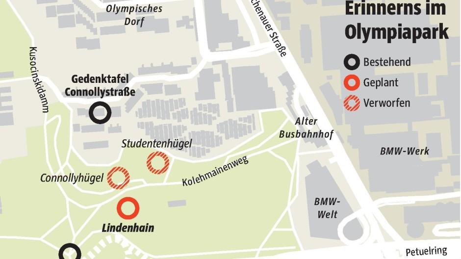 Olympiadorf Erinnerung an Attentat von 1972