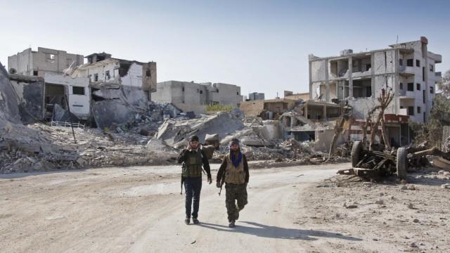 Syrische Stadt Kobanê