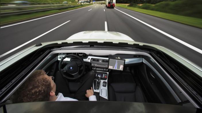 Autonomes Fahren bei BMW
