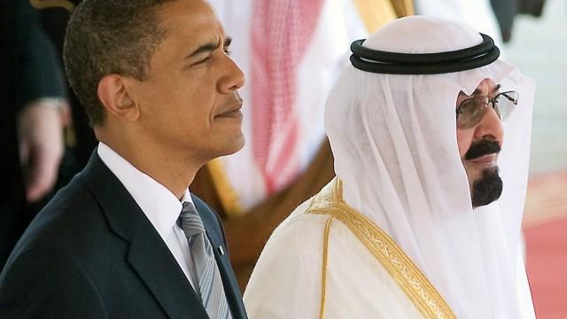 Saudi Arabien Saudi-Arabienund Amerika