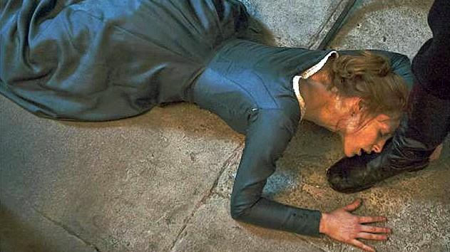 """Jessica Chastain als """"Miss Julie""""."""