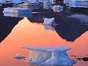 Eisberge in Grönland, AP