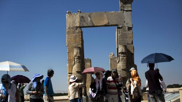 Touristen in Iran