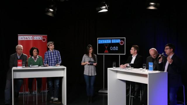 """Debate Club """"Debate Club"""" in München"""
