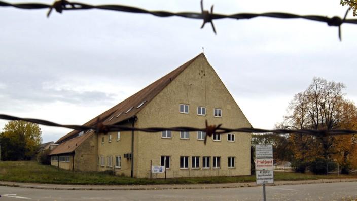 Ehemaliges Außenlager des KZ Dachau in Augsburg, 2006