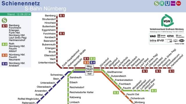 S-Bahn Nürnberg Britische Firma übernimmt S-Bahn-Betrieb