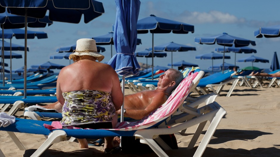 European Tourists Flock To Benidorm For Their Summer Holidays