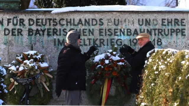 Kriegsgegner Soldatendenkmal in München