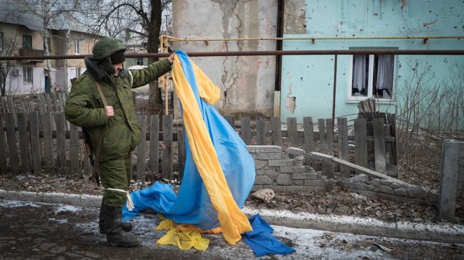Krieg in der Ukraine Separatisten in der Ukraine