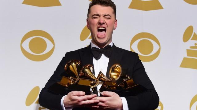 Sam Smith räumt bei den Grammys ab
