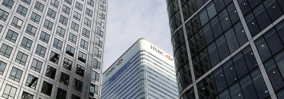 Politik Firmenporträt der HSBC