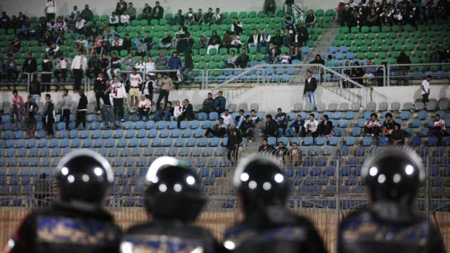 Fußball Ausschreitungen in Kairo