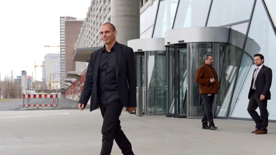 Finanzminister Varoufakis besucht EZB