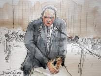 Dominique Strauss-Kahn im Gerichtsaal
