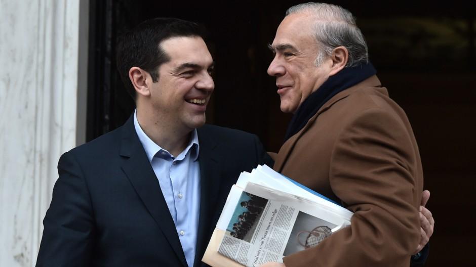 Griechenland am Abgrund Sondertreffen in Brüssel