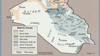 Stammesgebiete im Irak