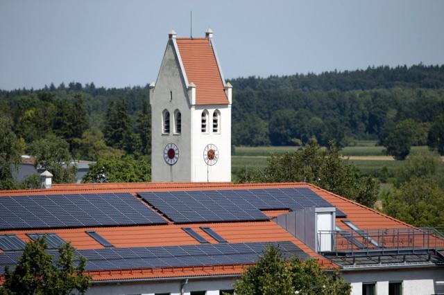 Germering: Serie ENERGIEWENDE / Rathaus