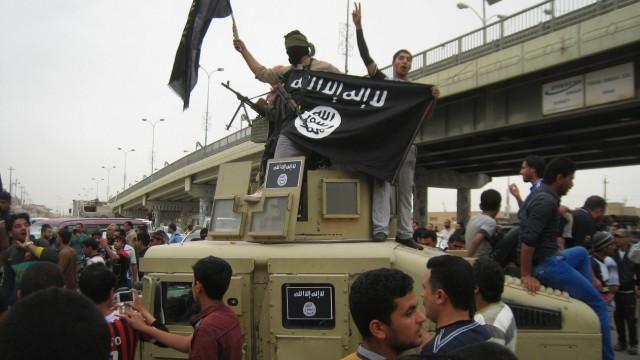 """Anhänger des """"Islamischen Staates"""" in Falludscha"""
