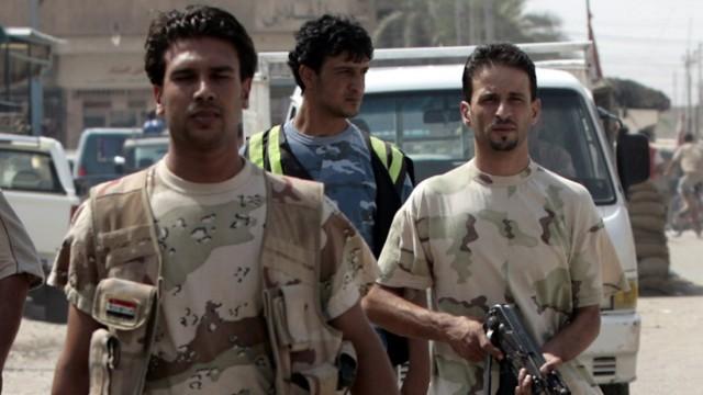 "Mitglieder der ""Sahwa"" in Bagdad"