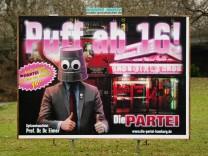 Wahlplakat 'Die Partei'