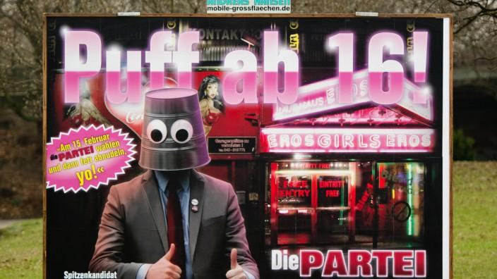 Burgerschaftswahl Szenen Des Hamburger Wahlkampfs Politik