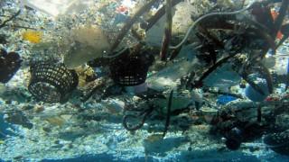 Umwelt und Energie Plastikmüll