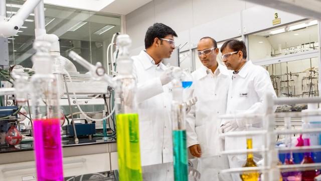 Indien als Teil der globalen Forschungsplattform