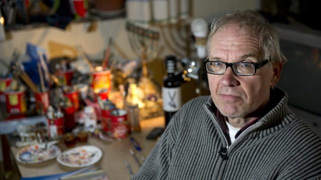 a 2012 file photo of Swedish artist Lars Vilks