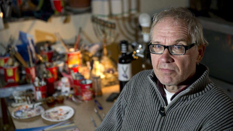 a 2012 file photo of Swedish artist Lars Vilks