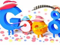 Rosenmontag Karneval Google Doodle