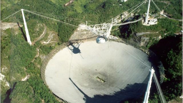 Arecibo teleskop empfängt signale von frb wissen