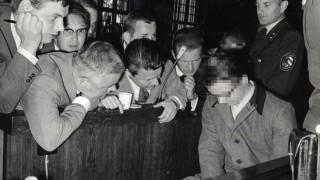 Prozeß gegen Klaus Gosmann in Nürnberg, 1967
