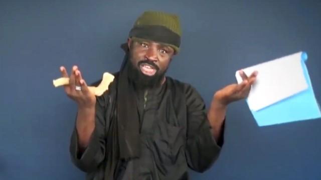 Boko-Haram-Chef Abubakar Shekau in einer Videobotschaft