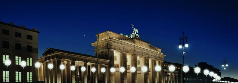 LICHTGRENZE Brandenburger Tor