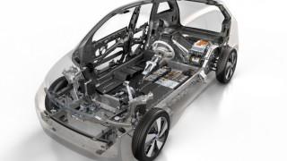 Die Karbonstruktur des BMW i3