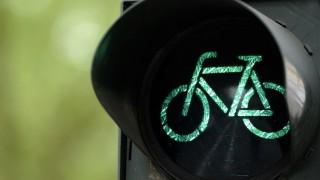 Radfahrer-Ampel in Köln