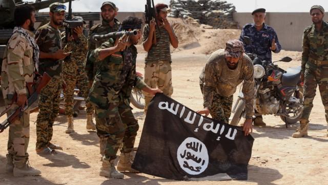 Bürgerkrieg in Syrien Kampf gegen IS