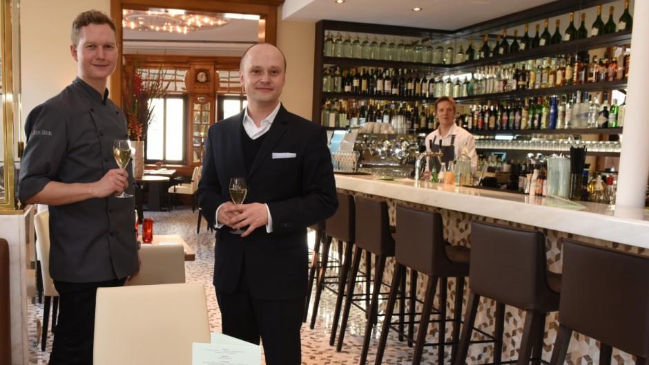 """restaurant """"schwarzreiter"""": neue bayerische küche - münchen"""