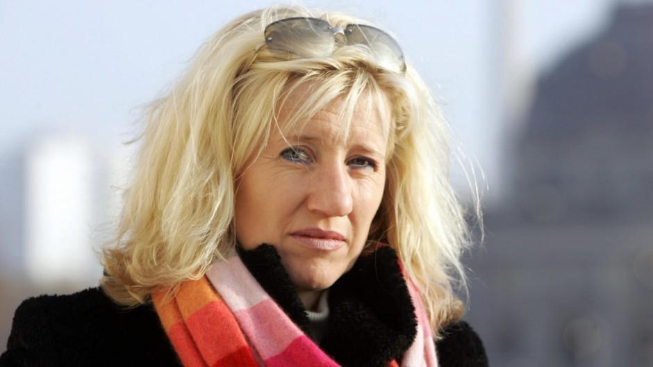 Former east German athlete Ines Geipel p