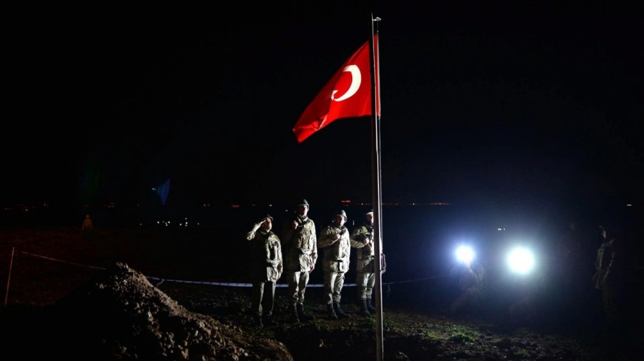Evacuate operation by Turkish army in Syria