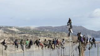 Flüchtlinge Lager Afrika