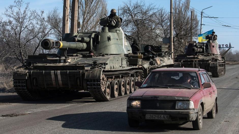 Krieg in der Ukraine Krieg im Donbass