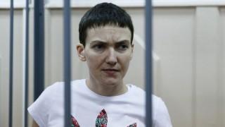 Ukrainian Nadezhda Savchenko on trial