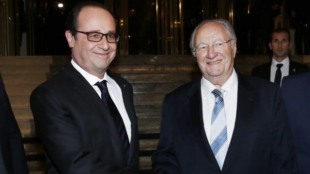 François Hollande Diskussion über Antisemitismus in Frankreich