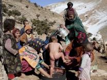 Berber-Dörfer im Hohen Atlas in Marokko