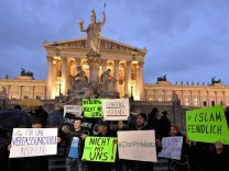 Protest in Vienna