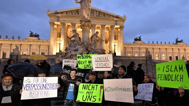 Protest in Vienna