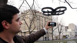 FRANCE-IT-ELECTRONICS-PARROT-DRONE