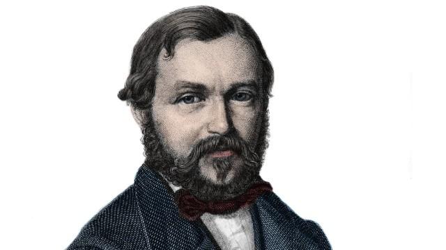 Heinrich Barth 1821 1865 German explorer portrait de Henri Heinrich Barth voyageur et explor